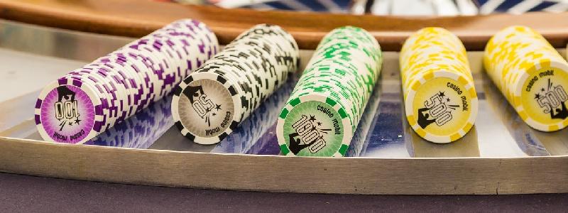 Casino og sjetonger